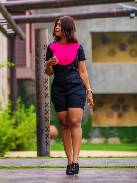Obaapa Top and Shorts