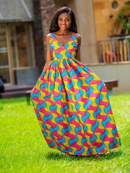 Beposu Han Maxi Dress