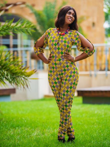 Ohemaa Cold Arm Jumpsuit