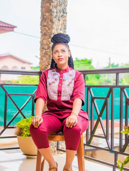Araba Sey Maroon Top and Down