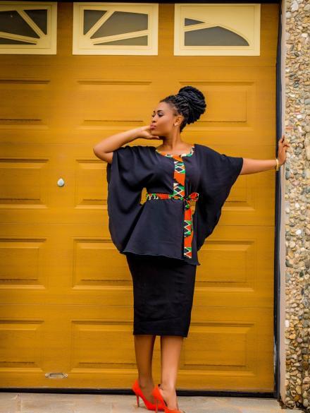 Nunana Black Skirt and Top