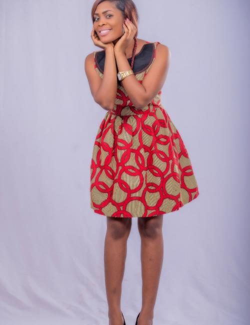 Upper Fit Short Dress