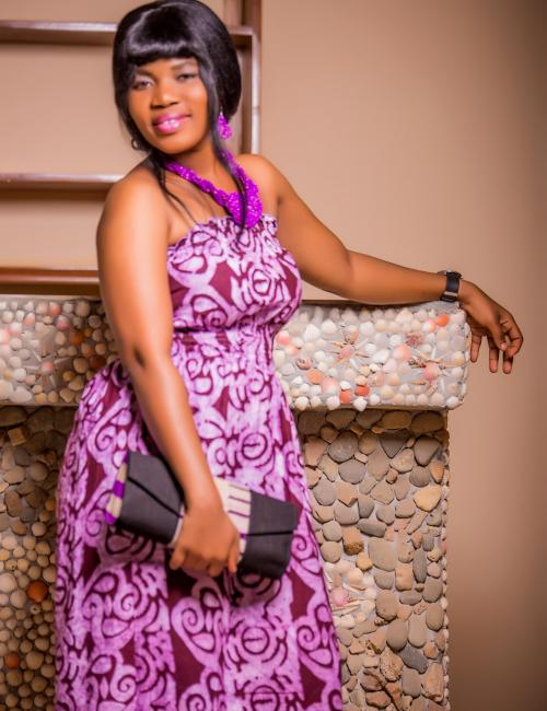 Asew Purple Long Dress