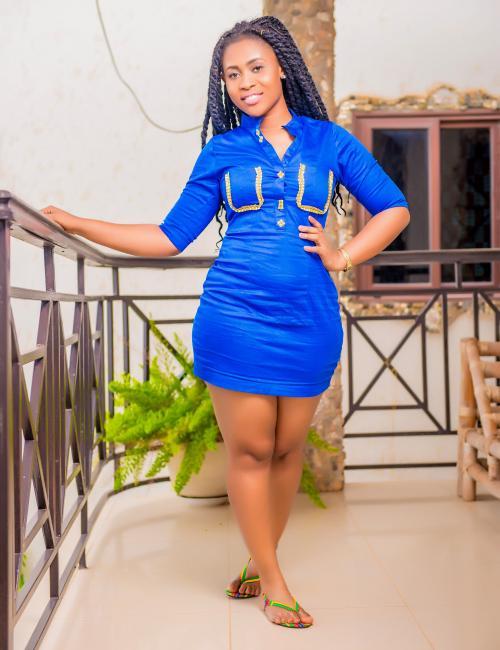 Julie's Blue Short Dress