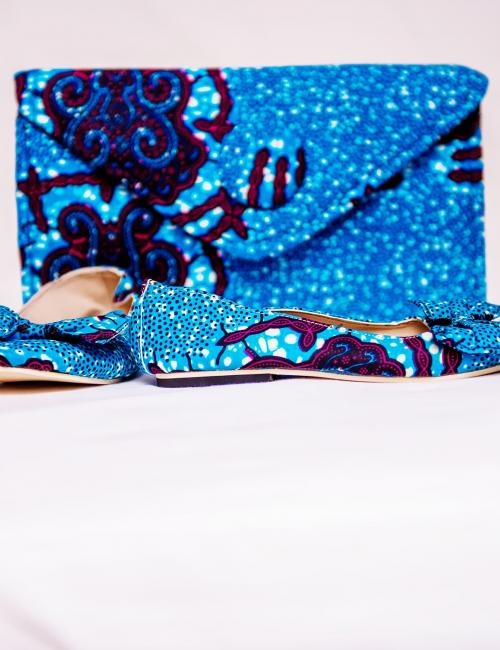Tanganyika Purse and Sandals